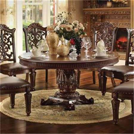 kit vendome 72 inch round single pedestal dining table