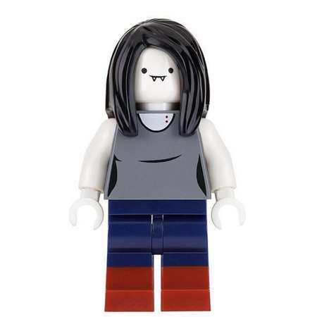 LEGO Adventure Time Marceline the Vampire Queen Minifigure [No Packaging] - Lego Halloween Vampires