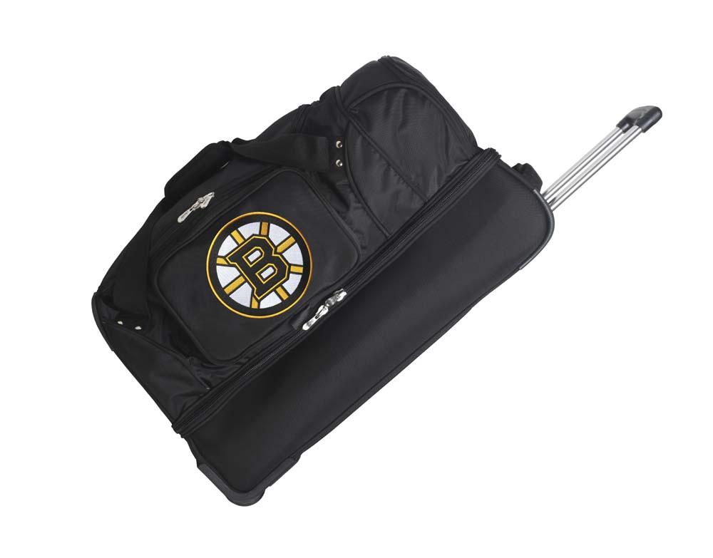 Denco Sports Luggage NHL 27; Drop Bottom Wheeled Duffel Bag