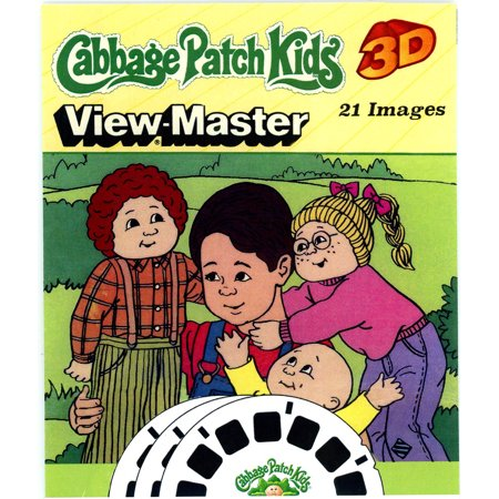Cabbage Patch Kids - Classic ViewMaster 3 Reel Set - 21 3D Images