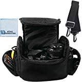 Vivitar Coco Series Large Digital Camcorder Video Padded Carrying Bag Case For Sony HDR CX360V HDR CX430V HRD ()