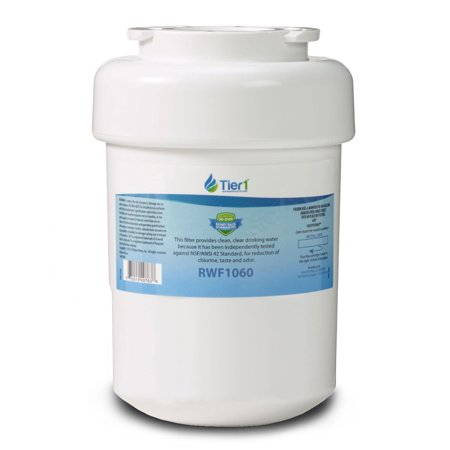 Tier1 Replacement for GE MWF SmartWater, MWFP, MWFA, GWF, GWFA, HWF, Kenmore 9991, 46-9991, 469991 Refrigerator Water Filter ()