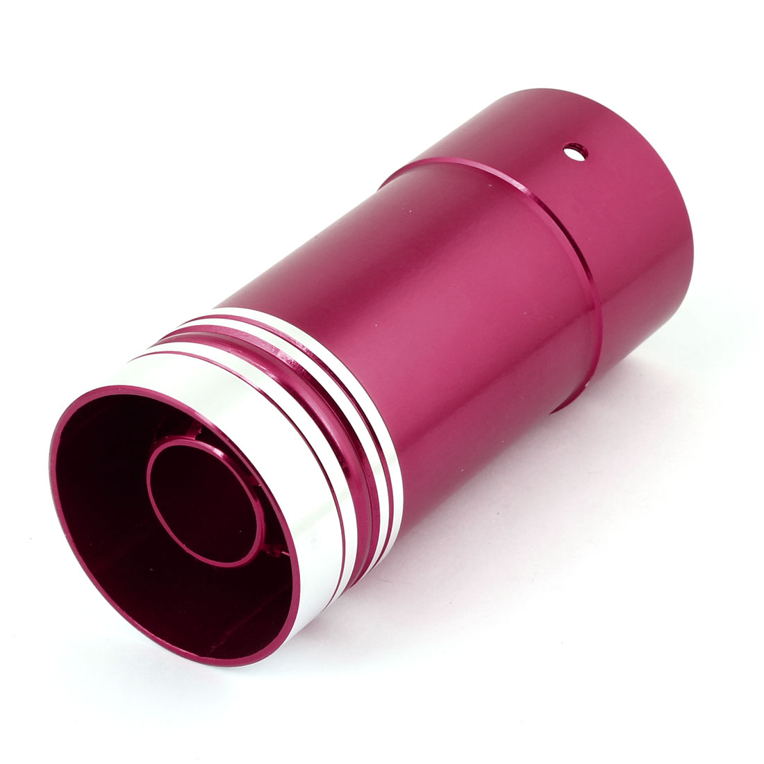 Unique Bargains Car Truck Red Aluminum Exhaust Tailpipe Round Muffler Silencer Tip 145 x 60mm