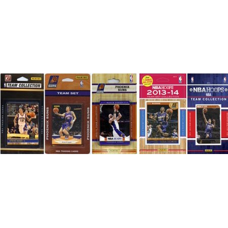 26a4d3bf7 C I Collectibles NBA Phoenix Suns 5 Different Licensed Trading Card Team  Sets O S - Walmart.com