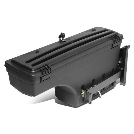 For 2007 to 2019 Chevy Silverado GMC Sierra 1500 2500HD 3500HD Left Side Truck Bed Wheel Well Storage Case Tool Box 08 09 10 11 12 13 14 15 16 17 18 (Toolbox For 2003 Chevy Silverado)