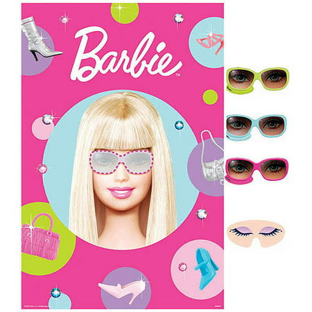 Barbie 'All Doll'd Up' Party Game Poster (1ct)