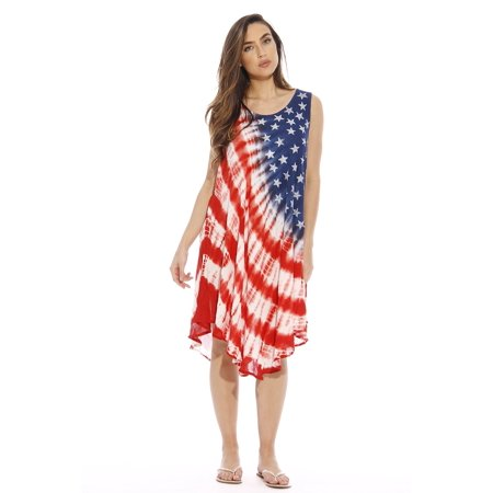 Riviera Sun - American Flag Dress / Summer Dresses / Swimsuit Cover ...