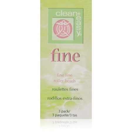 Clean + Easy Fine Roller Head- 3 pk, made of best qualify raw material By Clean Easy