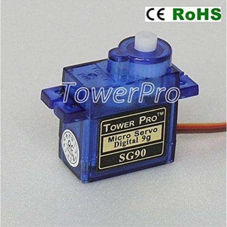 American Robotic Supply Authentic Tower Pro SG90 Digital Servo - 2 (Tower Pro Servo)