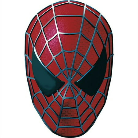 Spiderman 3 Cardboard Masks 4ct By Factory Card and Party Outlet](Party And Card Outlet)