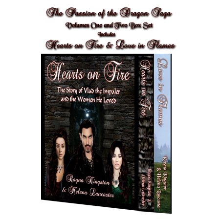 The Passion of the Dragon Saga Boxed Set: Hearts on Fire and Love in Flames - (Flaming Heart)