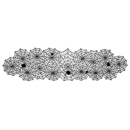 Halloween Table Runner Crochet Pattern (DII Halloween Lace Table Runner, 72 x 18