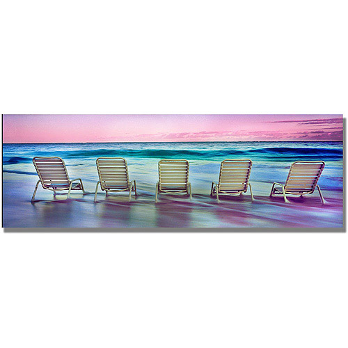 """Trademark Art """"Party Of Five"""" Canvas Wall Art by Preston"""