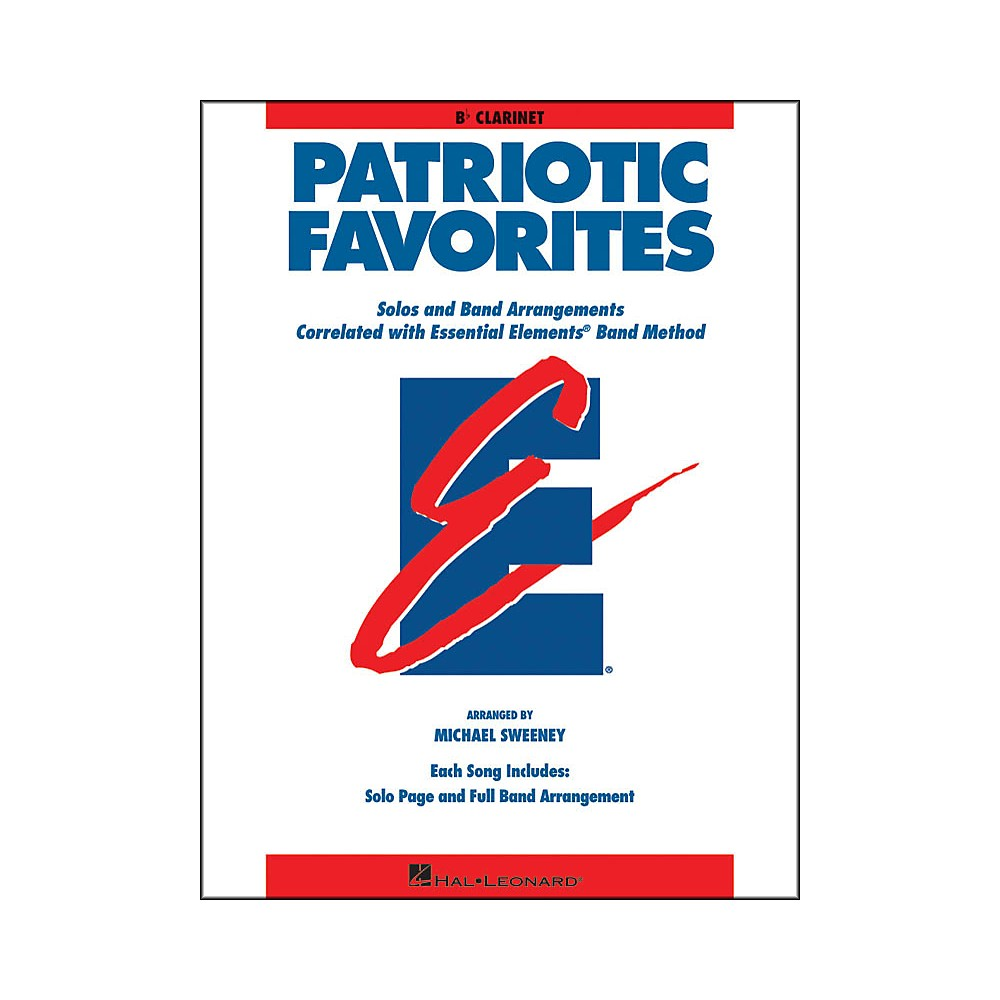 Hal Leonard Patriotic Favorites Bb Clarinet