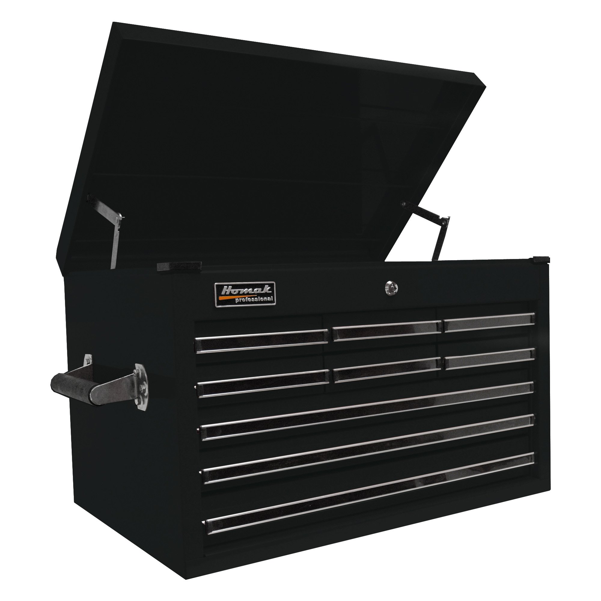 Homak Pro Series 9 Drawer Extended Top Chest