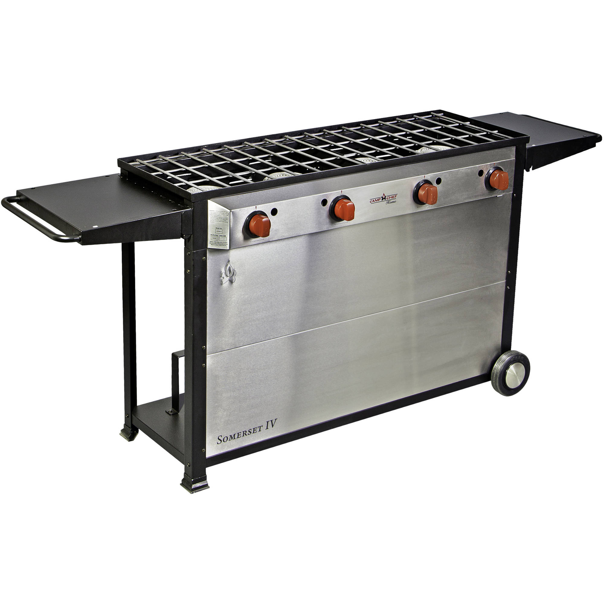 Camp Chef Somerset IV 4-Burner Cart Range