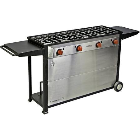 Camp Chef Somerset IV 4-Burner Cart Range