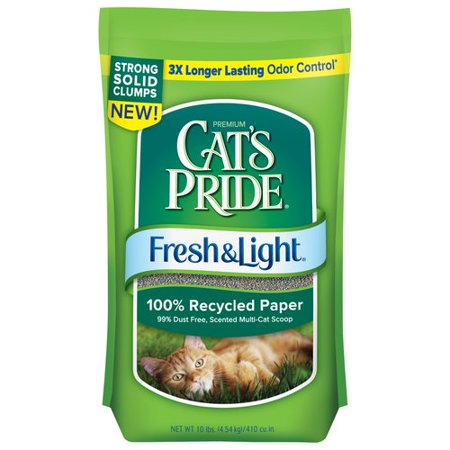 Cat S Pride Fresh And Light Recycled Paper Litter
