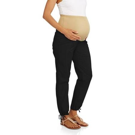 Oh! Mamma Maternity Full Panel Casual Convertible Cargo Pants -  Oh Mamma, 0066037529737