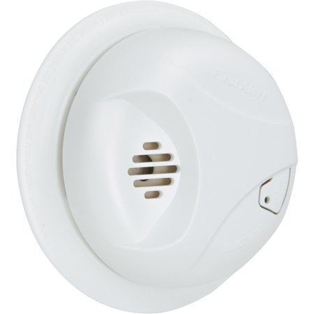 First Alert Battery Powered Smoke and Fire Alarm with Silence