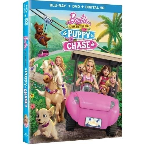 Barbie And Her Sisters In A Puppy Chase (Blu-ray + DVD + Digital HD) by Universal