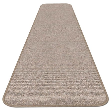 Skid Resistant Carpet Runner Pebble Beige 6 Ft X 27