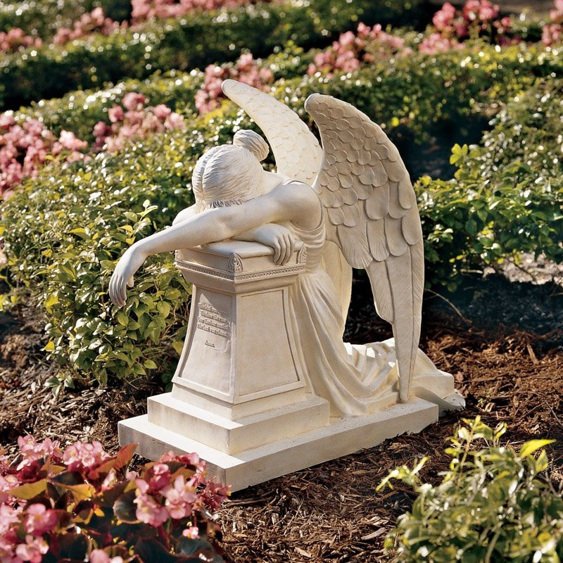 Design Toscano Angel of Grief Monument Garden Statue Walmartcom