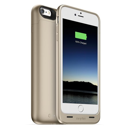 mophie Juice Pack 2600mAh Protective Battery Case for iPhone 6s PLUS & 6 PLUS - Gold (Refurbished) ()