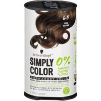 Schwarzkopf Simply Color Permanent Hair Color, 6.0 Cool Brown