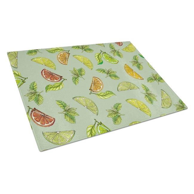 Carolines Treasures BB5206LCB Lemons Limes & Orange Glass Cutting Board, Large - image 1 of 1