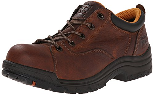Timberland PRO Women's 63189 Titan Oxford,Brown,7 W by Timberland PRO