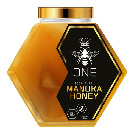 Limited Edition Ultra-Premium ONE MANUKA HONEY 100% New Zealand Certified 20+ MGO 829+ MPC 80+ Artisanal Glass -