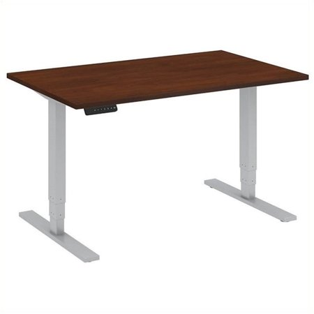 Bush Business Furniture Move 80 Series 48W x 30D Height Adjustable Standing Desk in Cherry