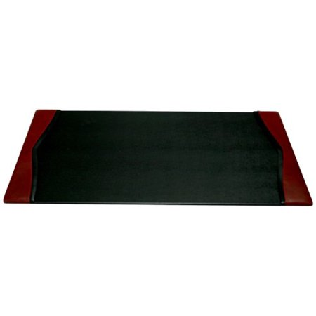 Dacasso Burgundy Desk Pad with Side-rails,34 by 20 Inch - image 1 of 1