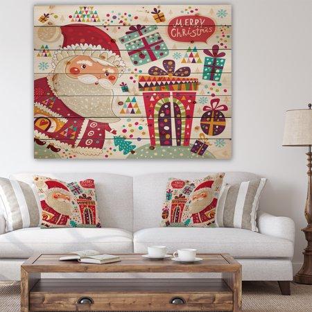 Design Art - Santa Claus with Christmas presents - image 2 de 5