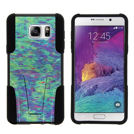 Samsung Galaxy Note 5 N920 STRIKE IMPACT Dual Layer Shock Absorbing Case with Built-In Kickstand - Lavender Swamp (Built Hoodie Case)