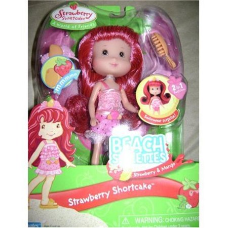 Strawberry Shortcake Berry Sweet Beach Sweeties Doll