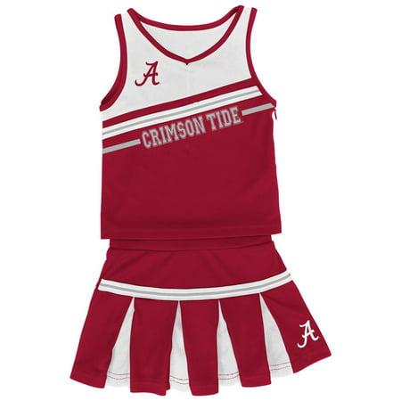 a1a32e406 Colosseum Athletics - Infant Girls  Alabama Crimson Tide Bama Cheerleader  Outfit - Walmart.com