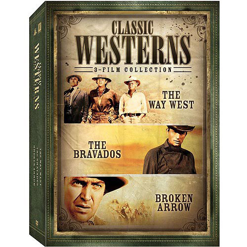Classic Westerns 3-Film Collection: The Way West / The Bravados / Broken Arrow