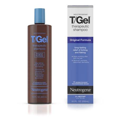 Neutrogena T Gel Original Formula Therapeutic Shampoo  8 5 Oz
