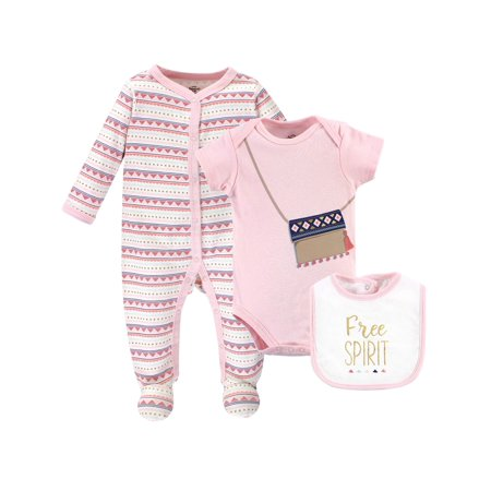Sleep and Play, Bodysuit & Bib 3Pc Set (Baby -