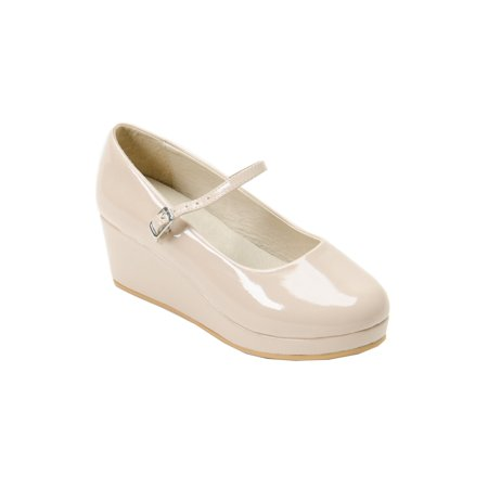 Pazitos Girls Patent Naturel 11/4
