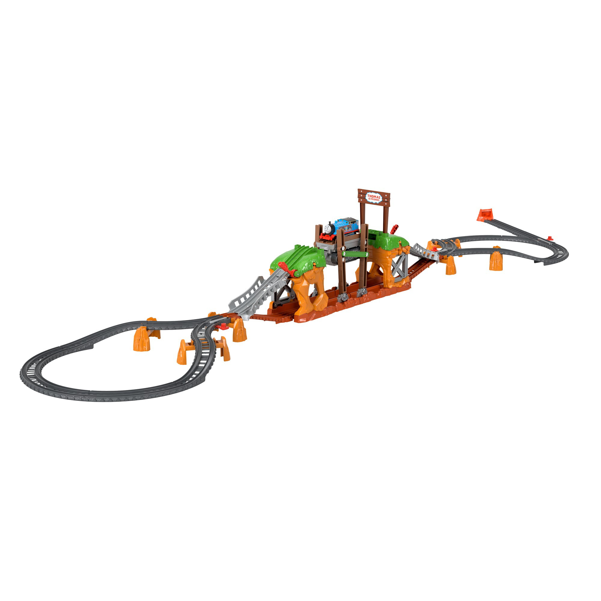 Thomas & Friends Walking Bridge Motorized Train Set, 32 Pieces - Walmart.com