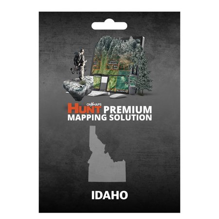 onXmaps HUNT Idaho - GPS Map with Hunting/Land Owner Data for
