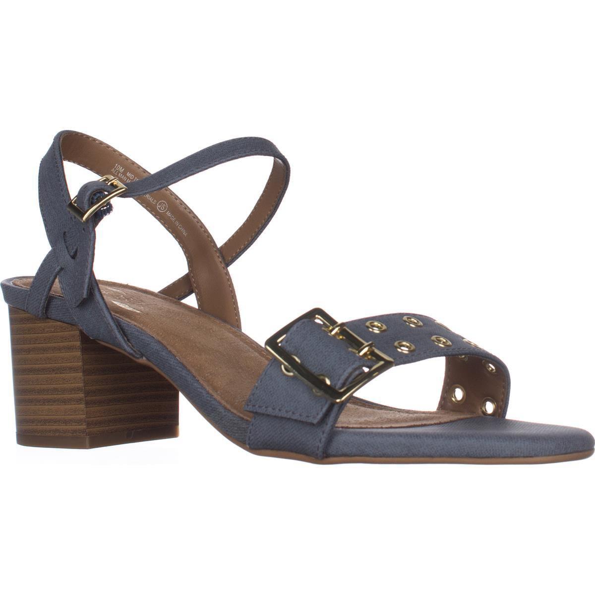 Womens Aerosoles Mid Town Dress Sandals, Blue by Aerosoles