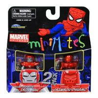 Marvel Minimates Series 36 Silver Centurion Iron Man & Crimson Dynamo