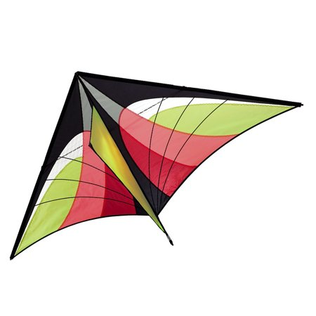 160 x 90cm / 63 x 35.5in Large Delta Kite Outdoor Sport Single Line Flying Kite with Tail for Kids Adults (Kite Tails)