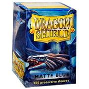 Card Supplies Dragon Shield Matte Blue Standard Card Sleeves [100 ct]