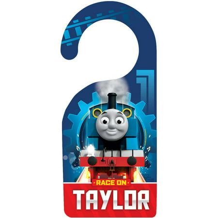 (Personalized Thomas and Friends Rance On Door Hanger)