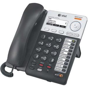 Desktop Phone - AT&T Synapse SB67025 Desktop VoIP Phone w/ Caller ID Speakerphone